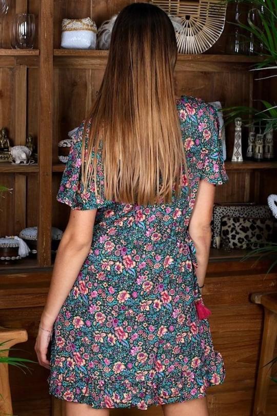 SHORT DRESS - GARDEN