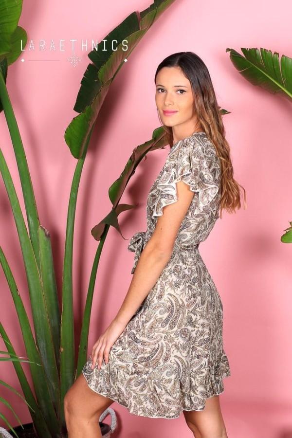 WRAP DRESS - KALYVIA