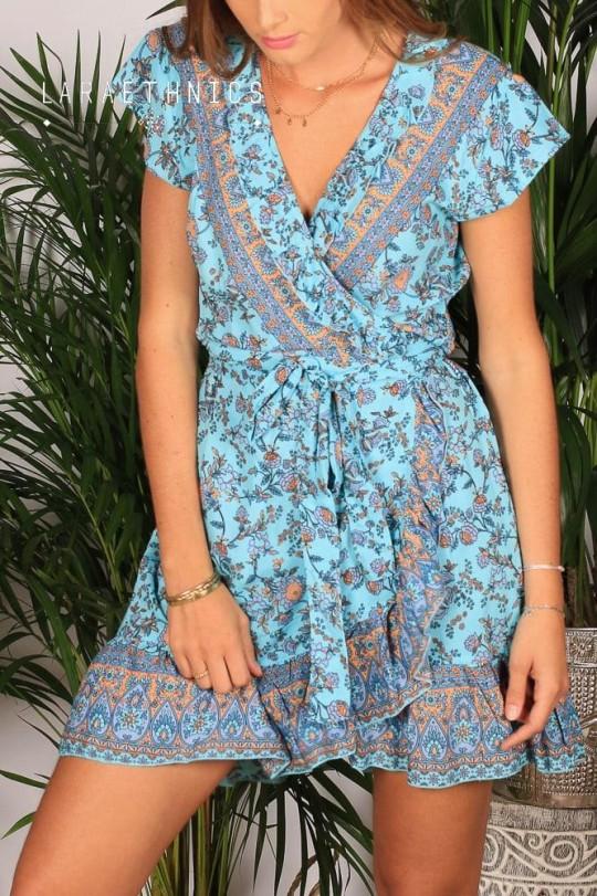 WRAP DRESS - SAVINA