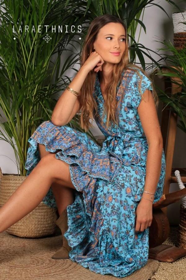 WRAP DRESS - SHAINA