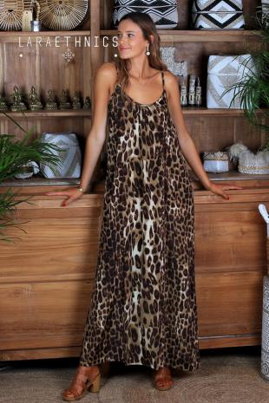 LONG SINGLET DRESS - SOPHIA