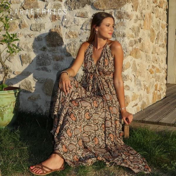 OPEN BACK LONG DRESS - VICTORIA